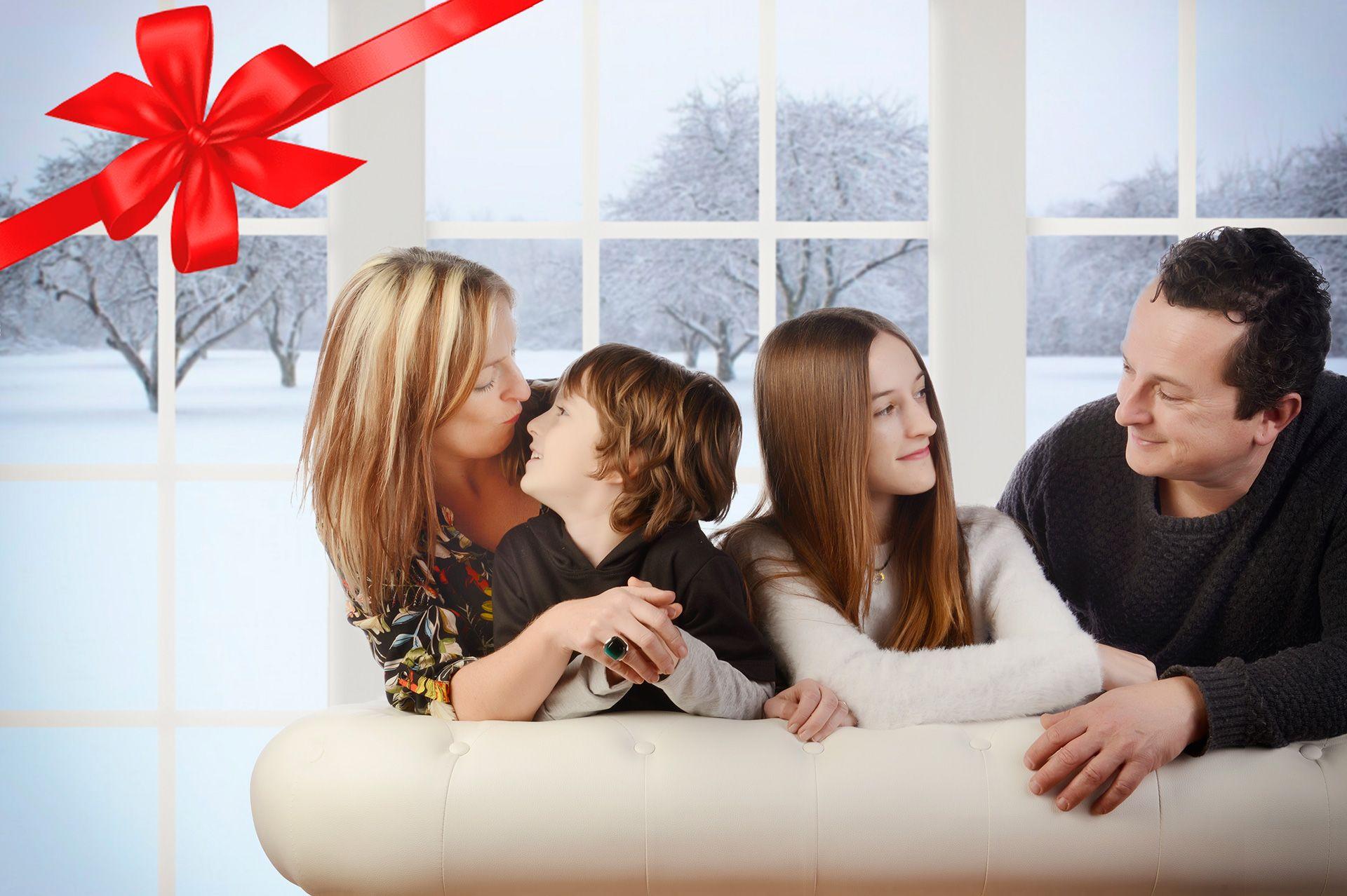 Regala fotografía por Navidad